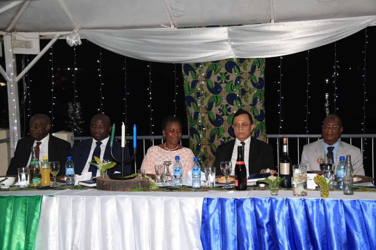 Foreign Minister Interacts with Diplomatic and Consular Corps at Reception Held at Sierra Light House on 28th November, 2019