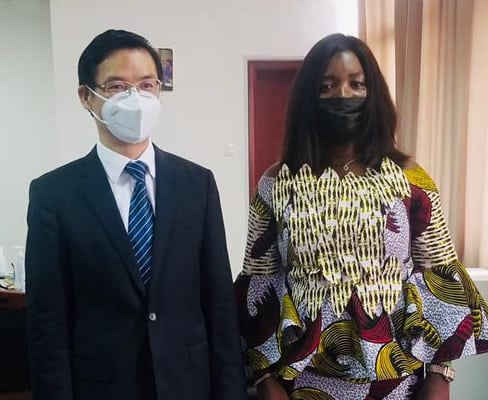 China Ambassador to Sierra Leone, Mr. Hu Zhangliang Calls on Deputy Foreign Minister