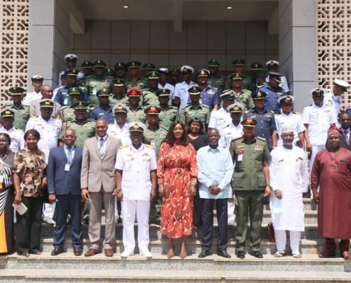 Deputy Foreign Minister Hosts Nigeria Delegation from the National Armed Forces Command and Staff College