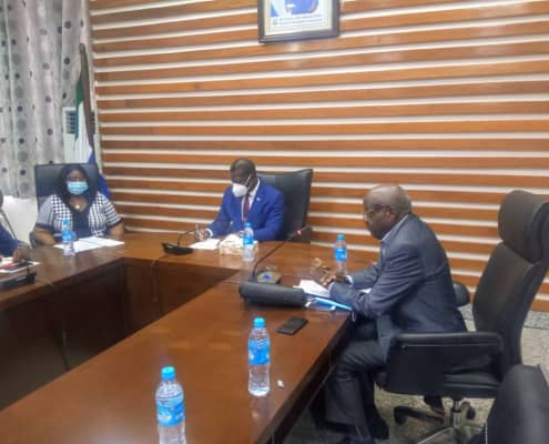 Consultative Meeting with members of Foreign Affairs' Parliamentary Oversight Committee