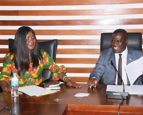 Foreign Minister Prof. Francis Engages Media Editors