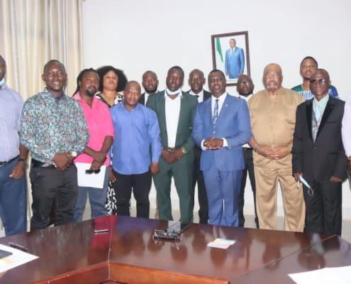 Ambassador Kao De' Nero Pays Courtesy Call On Sierra Leone's Foreign Minister